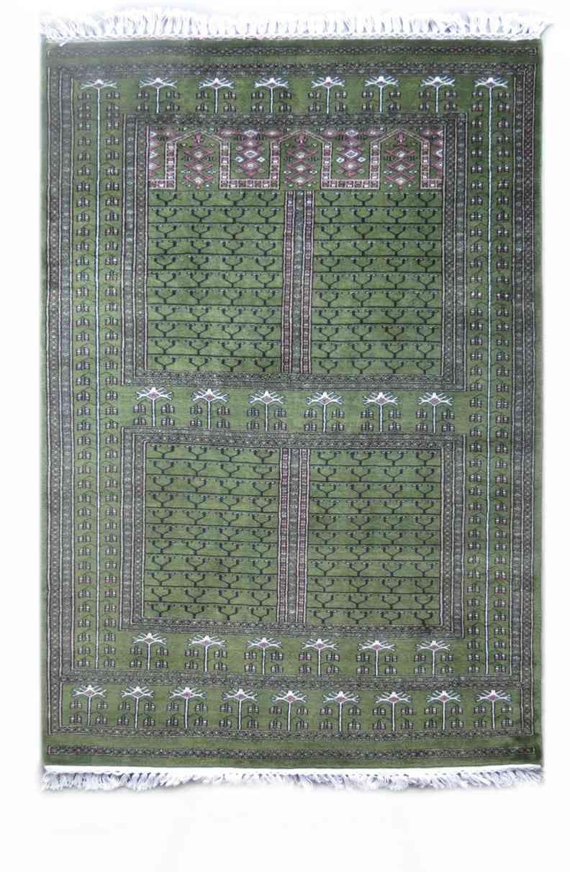 Winds Palace Green Handmade Wool Rugs
