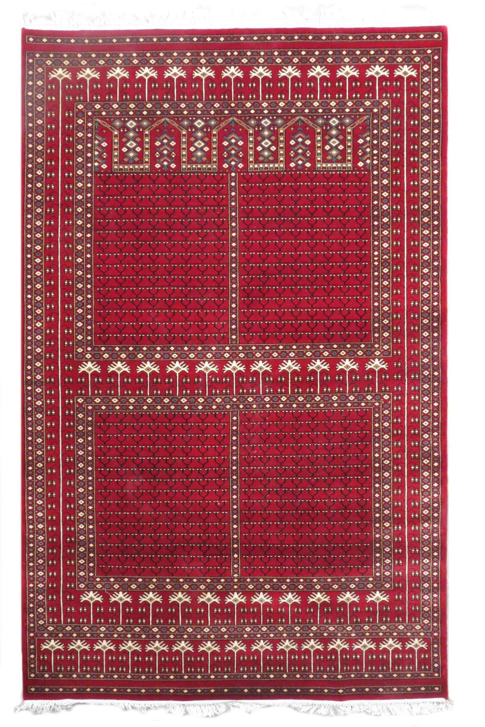 Winds Palace Red Color Jaipur Rugs