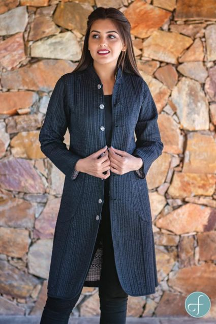 Bagh Block Printed Reversible Cotton Quilted Coat