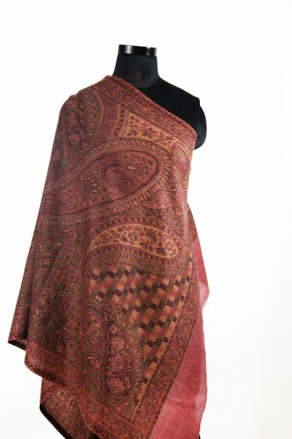 ANTIQUE RED CHEAP PASHMINA SCARVES FROM INDIA