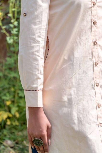 Butterscotch Cream Shirt Top