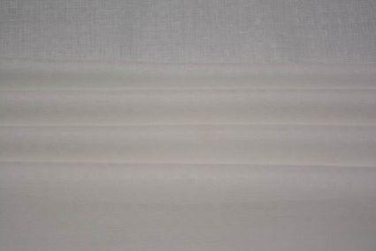 WHITE SELF DESIGN IRISH LINEN FABRIC-NVHF2705
