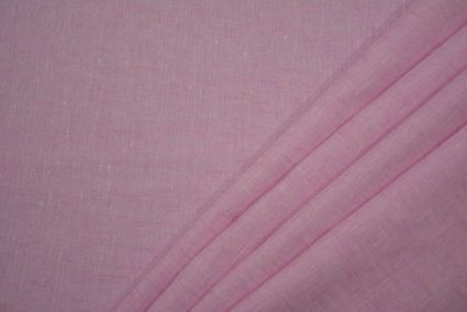 PINK LINEN FABRIC BY THE YARD-HF2262