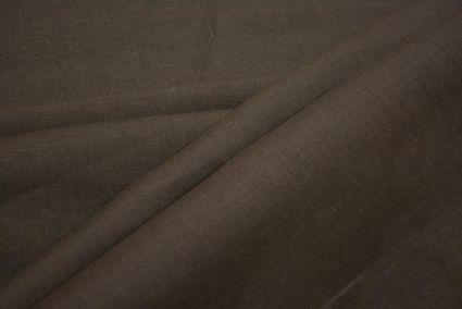 Code Brown Linen Trouser Fabric