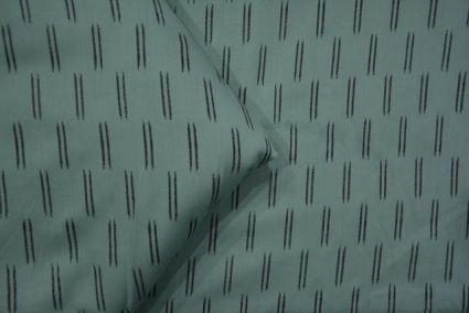 CONTINENTAL GREEN AND BLACK MODAL FABRIC-HF3096