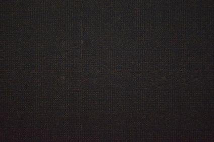 Black Tweed Wool Fabric