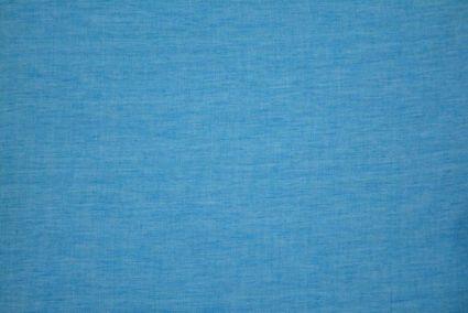 Horizon Blue Double Tone Handloom Cotton Fabric