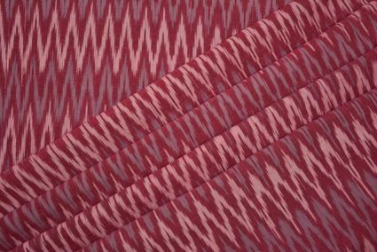 PINK IKAT FABRIC BY THE YARD-HF3289