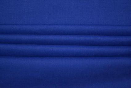 STRONG SEA BLUE IRISH LINEN SHIRTING FABRIC - HF3329