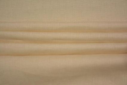 Sheep Beige Irish Linen Shirting Fabric