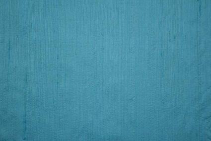Sky Blue Handloom Raw Silk (dupion)