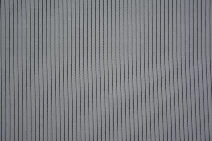 Jet Black & White Giza Fabric For Men