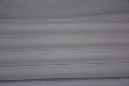 WHITE LINEN FABRIC BY THE YARD-NVHF1701