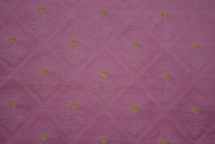 Begonia Pink Tanchui Banarasi Silk Fabric