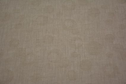 Whitecap Gray Self Design Pure Irish Linen Fabric