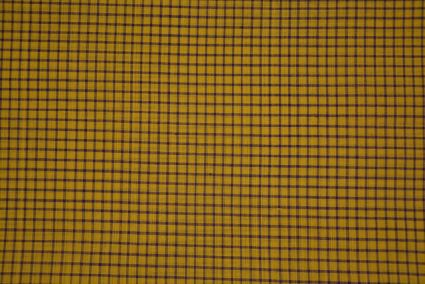 Popcorn Checks Pattern Mangalgiri Pure Handloom Cotton Fabric