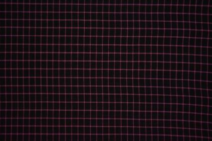 Black And Rose Checks Pattern Mangalgiri Pure Handloom Cotton Fabric