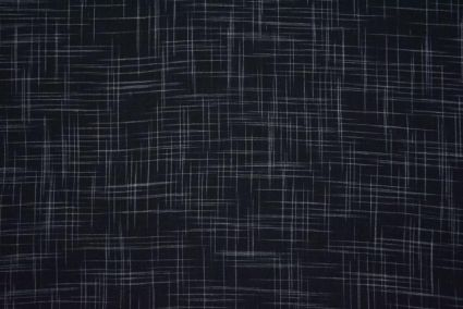 Black And White Handwoven Cotton Fabric