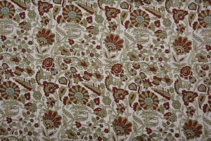 Brown And Grey Polyester Satin Fabric