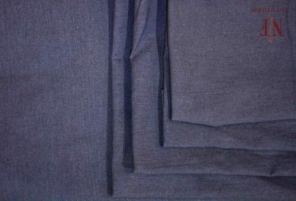 CLASSIC GREY UPHOLSTERY COTTON FABRIC-UF32