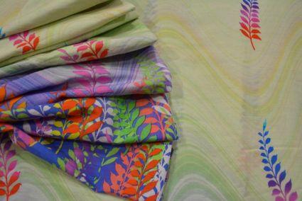 Multicolor Floral Digital Print Cotton Fabric