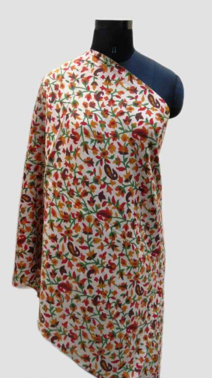 GARDENS OF CASHMERE PRINTED SCARF-PS175