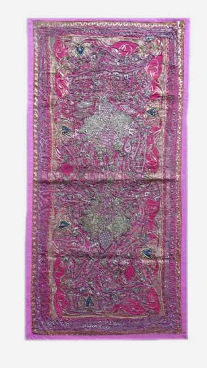 HANDMADE EMBROIDERED BEADED WORK FROM INDIA