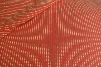 HANDWOVEN COTTON FABRIC BY THE YARD-HF183