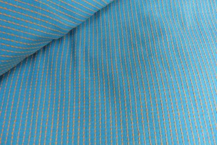 HANDWOVEN COTTON FABRIC BY THE YARD-HF184
