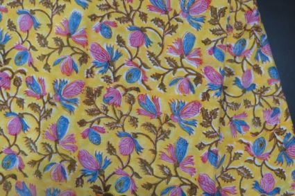 FLORAL 100 RAYON FABRIC BY THE YARD-HF267S