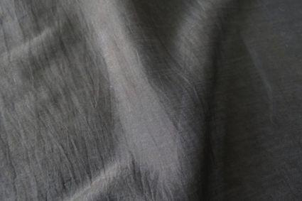 BLACK COTTON SILK FABRIC BY THE YARD-HF780