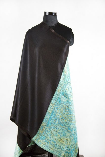 BLUE BLACK FALL SCARVES FROM INDIA SUPPLIER