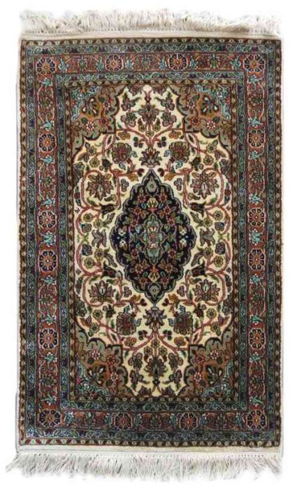 KASHMIR PURE SILK RUG FROM INDIA SUPPLIER