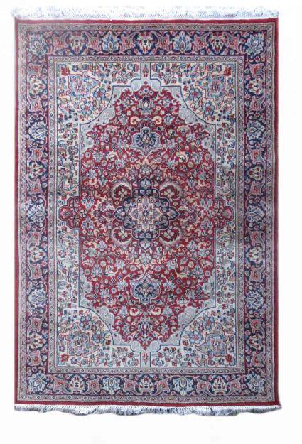 PERSIAN DESIGN RED HANDMADE WOOL RUG-SF10