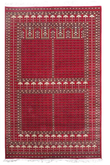 WINDS PALACE RED COLOR JAIPUR RUGS FROM INDIA